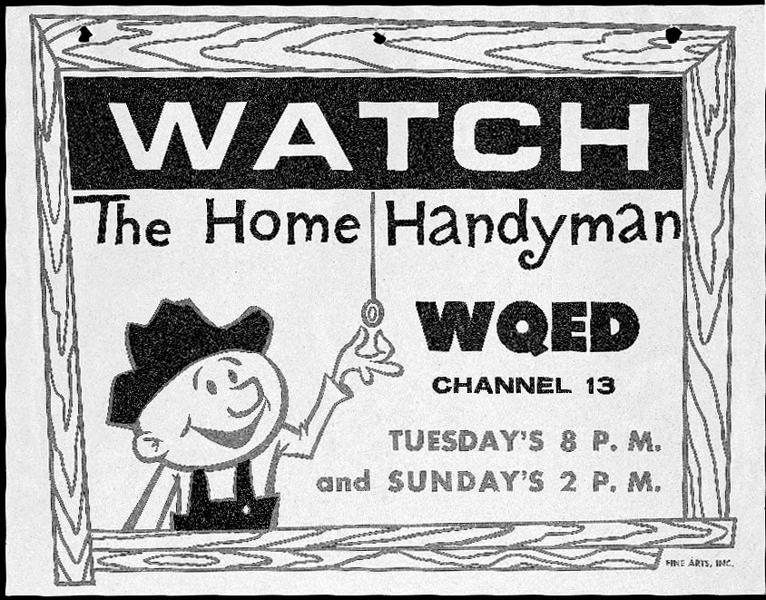 Promo Card for The Handy Man show
