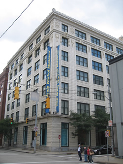 Exterior of the Warhol Museum