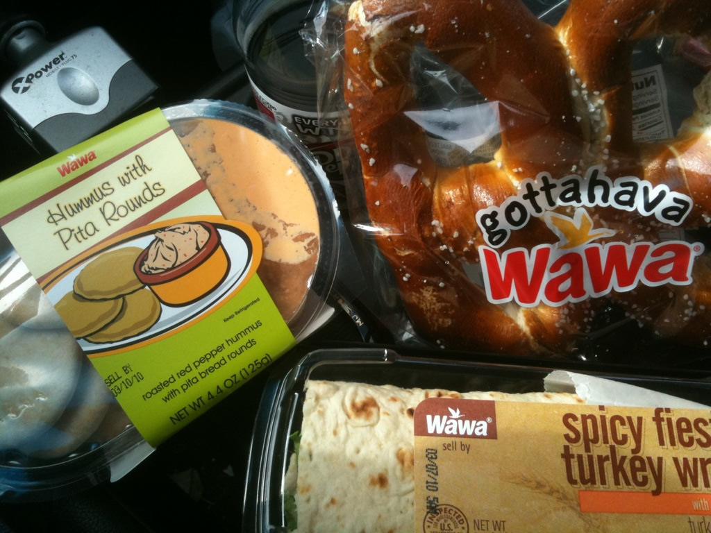 Variety of Wawa products