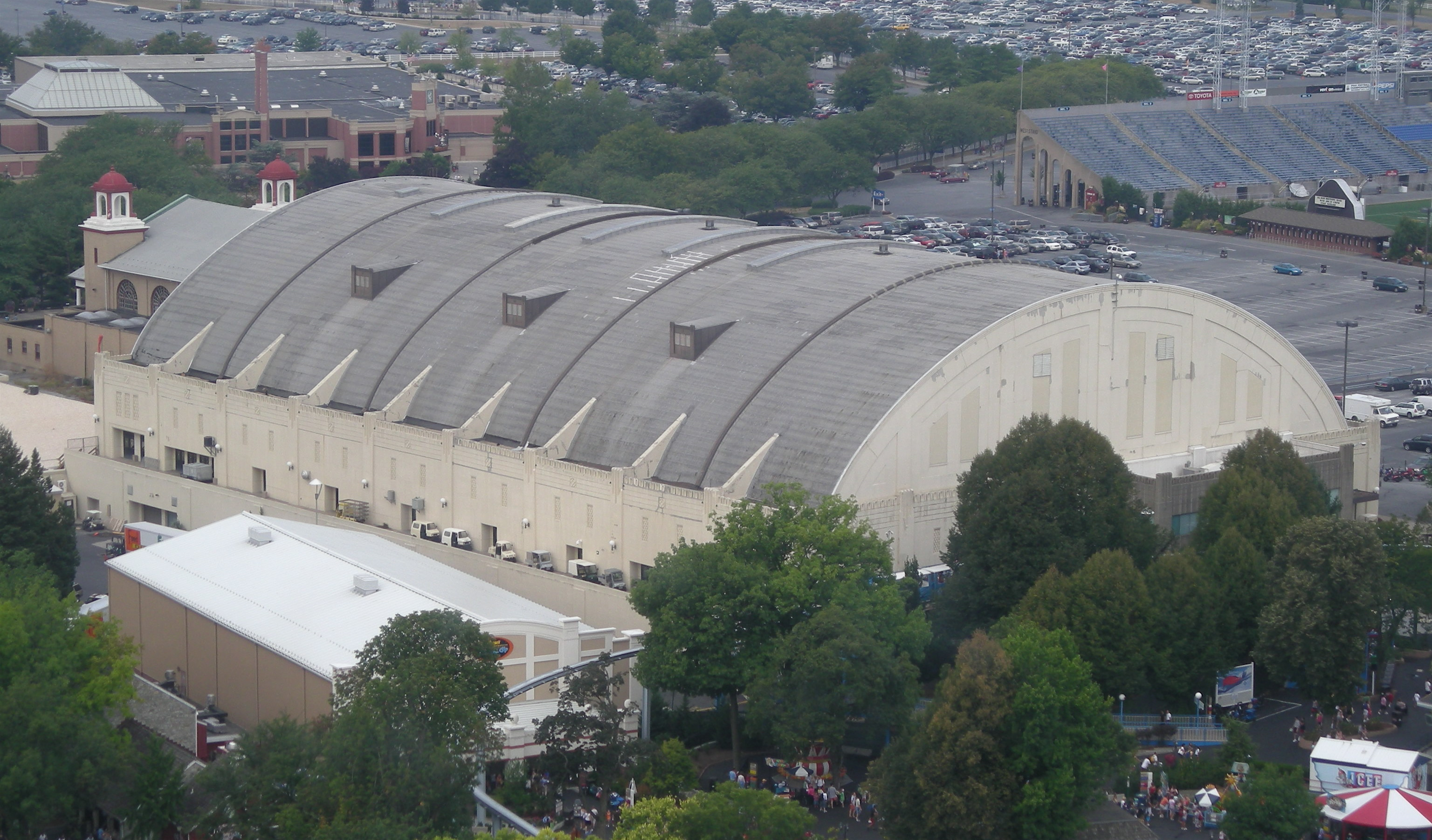 Aerial View of Hershey Arena