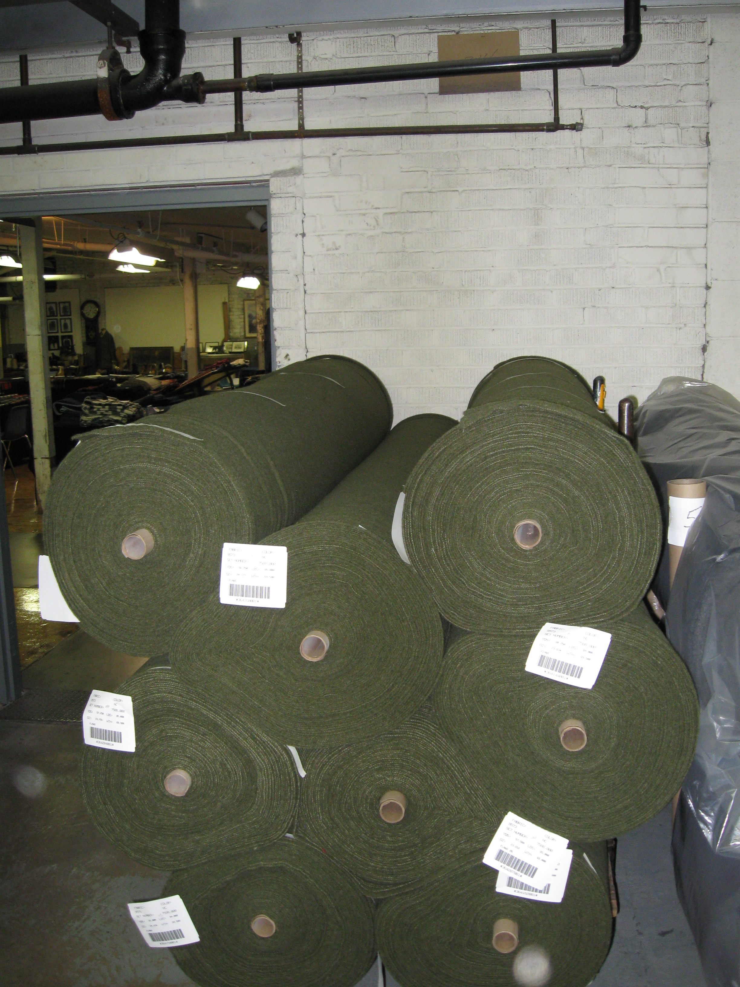 Fabric for Army blankets