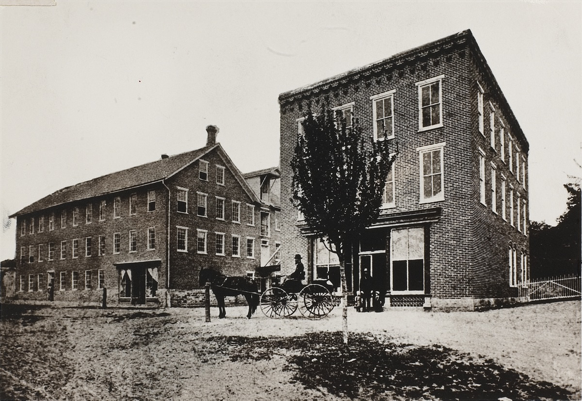 Woolrich Factory in 1887