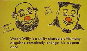 Wooly Willy as the Dude