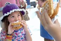 Child Eating Fair Food