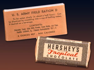 Hershey's Ration D bars