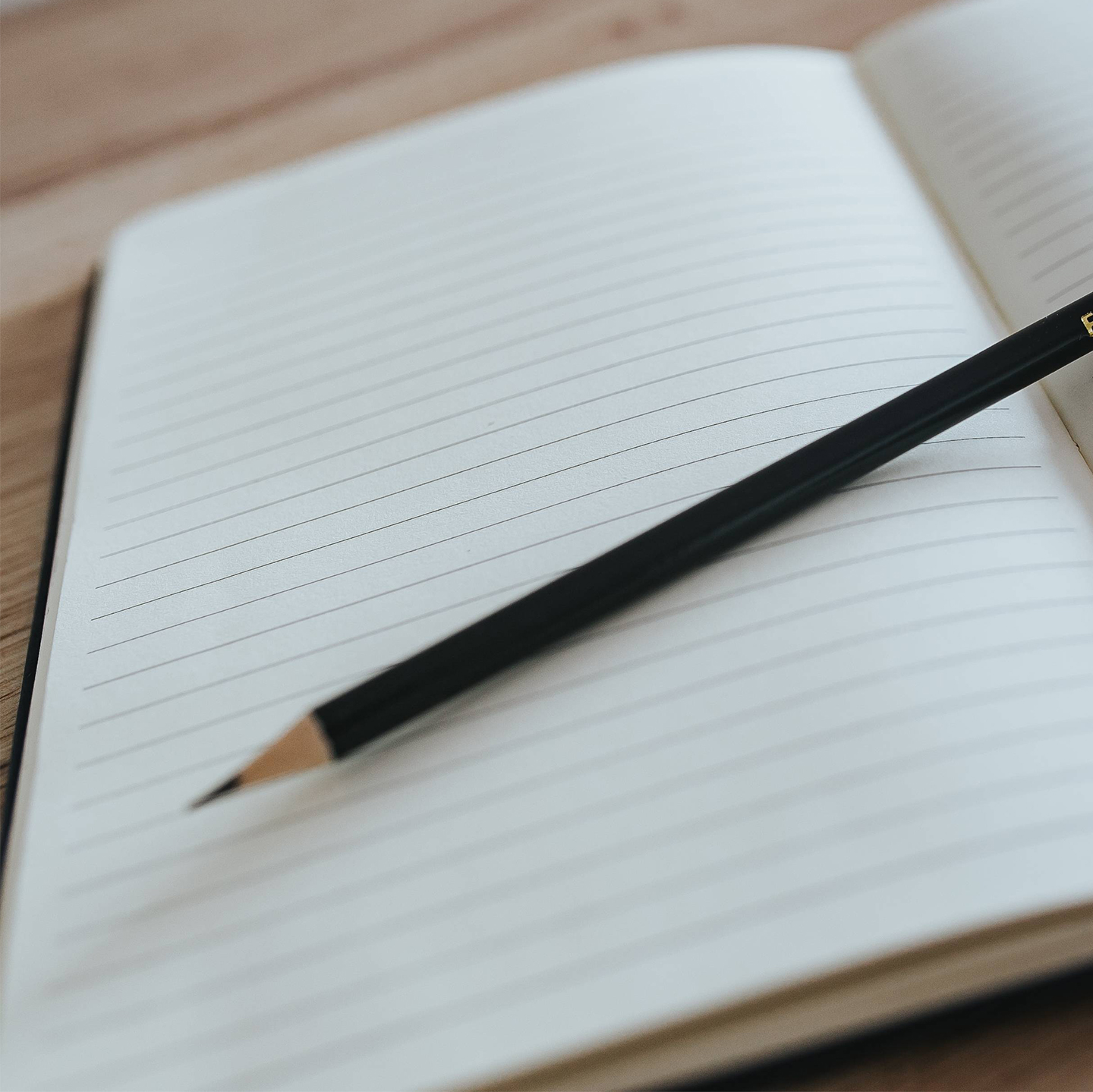 Photo of Blank Notebook