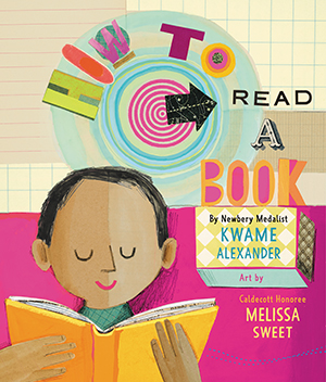 "This year's winner is <a href=""https://www.pabook.libraries.psu.edu/awards-contests/lee-bennett-hopkins-poetry-award"">""How to Read a Book""</a> by Kwame Alexander, illustrated by Melissa Sweet (HarperCollins, 2019)."