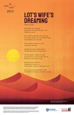 Lot's Wife Dreaming poem - Poster