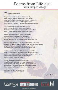 Poem - Wedding Photo for Mavis Pacchioli by Joe Bueter