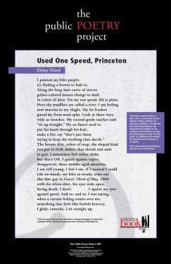 Used One Speed, Princeton
