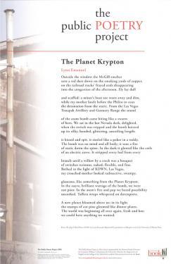 The Planet Krypton